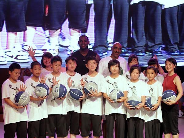 Wrapping up China Nike X LeBron MTAG leg 8211 Shanghai Event Recap