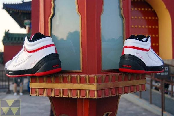 Zoom LBJ Ambassador II ORAP Black White Red Actual Photos
