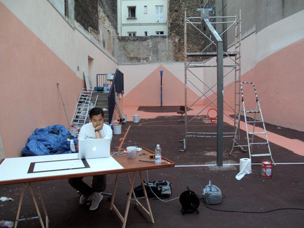 Behind The Scenes Making Of The LeBron VII Paris Artist Series