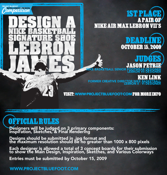 Project Bluefoot  LeBron James Design Competition with JP and Kenzo