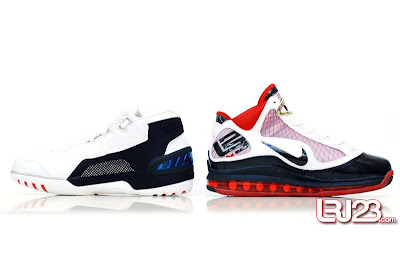 nike air max lebron 7 gr black red white 12 inside1 1 2 3 4 5 6 7: Nike LeBron Series Round Up / Comparison