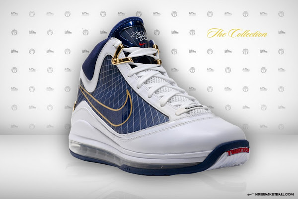 Air Max LeBron VII 7 White  Navy Official Release Date