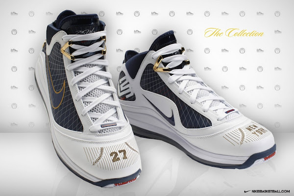 Nike Air Max LeBron VII New York Yankees Promo Colorway