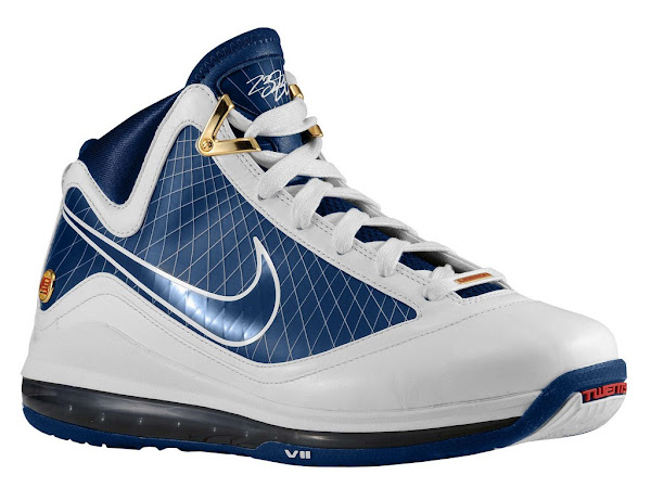 Release Reminder Nike Air Max LeBron VII WhiteMidnight Navy