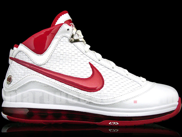 First Look at the White and Red Nike Air Max LeBron VII NFW
