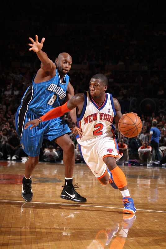 Wearing Brons 8211 Nate Robinson Rocking the Birthday LeBron IV