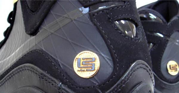 Releasing Now Nike Air Max LeBron VII BlackGold aka 8220Phantom8221