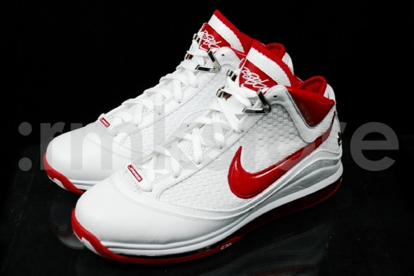 Nike Air Max LeBron VII NFW Woven WhiteRed Available Early