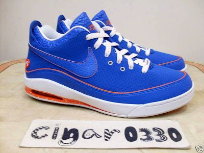 nike air max lebron 7 low gr white royal orange 1 08 Nike Air Max LeBron VII Low New York City Sample Colorway