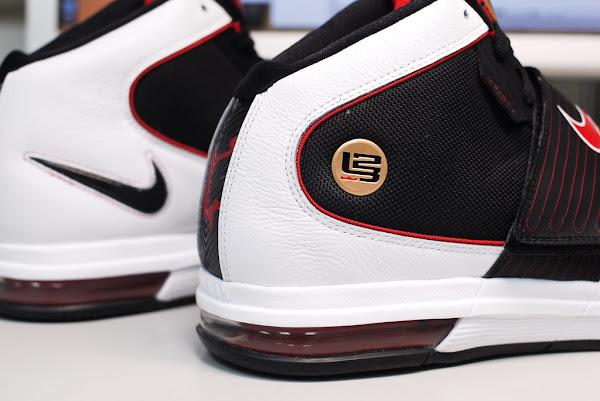 Nike Zoom LeBron Soldier IV 8211 BlackWhiteRed 8211 Actual Photos