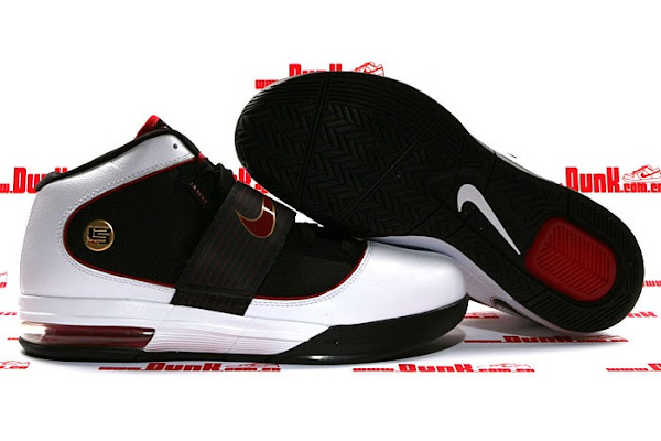 Nike Zoom Soldier IV 8211 BlackWhiteRedGold 8211 Released Version
