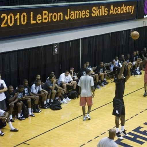 2010 LeBron James Skills Academy LBJ Introduces the Soldier IV