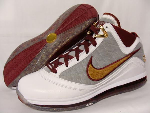 Nike Air Max LeBron VII 7 MVP Quickstrike Packaging Gold Box