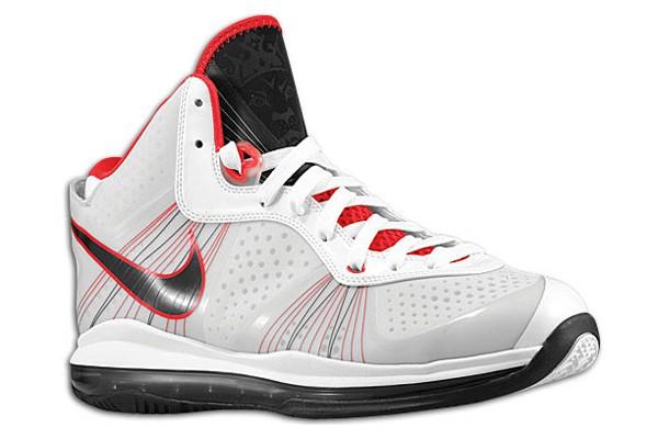 Nike LeBron 8 V2 429676100 Nike LeBron 8 PS Tech Specs