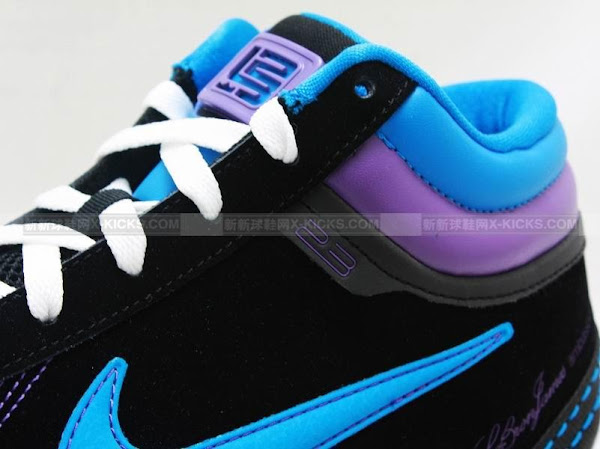 Nike Zoom LBJ Ambassador II Summit Lake Hornets Detailed Pics