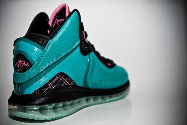 Nike Air Max LeBron 8 Miami South Beach 8211 Additional Look