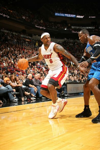 Miami Heat Dominate Orlando in Home Opener LeBron Wears Chinas