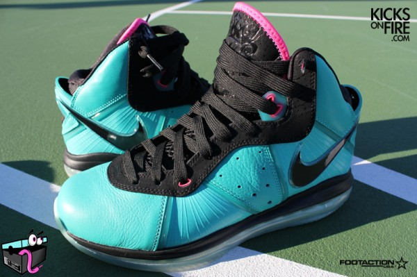 Release Reminder Limited Miami South Beach Nike LeBron 8