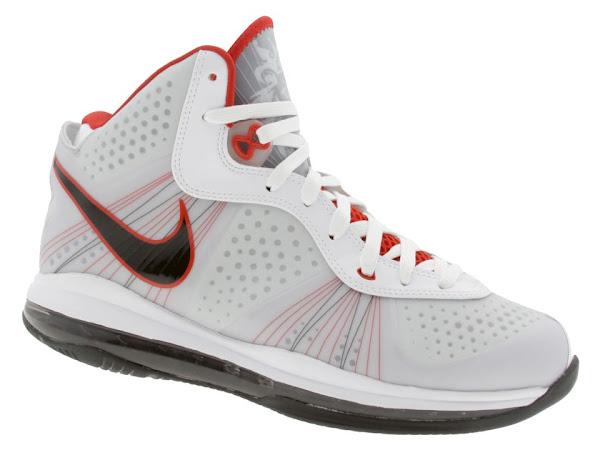 Nike LeBron 8 V2 Special Box WhiteBlackRed Available Early