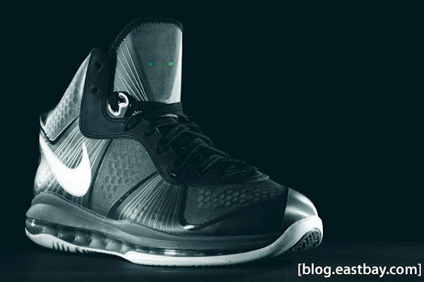 Additional Look at Nike Air Max LeBron 8 V2 Cool GreyWhite
