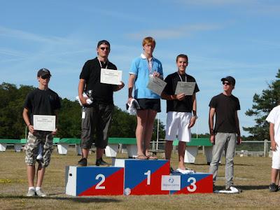 Le podium F3N Junior/Cadets