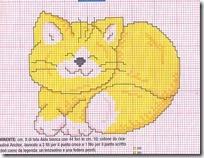 gatto giallo