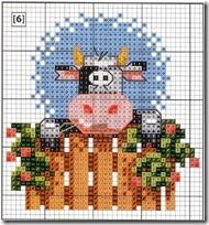 vacas punto de cruz (24)