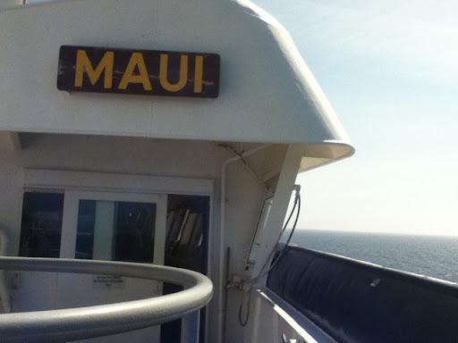 Aboard the S.S. Maui