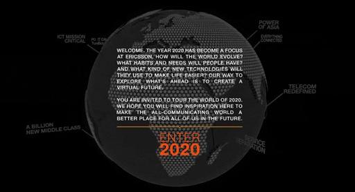 Ericsson futur le monde en 2020 prospective
