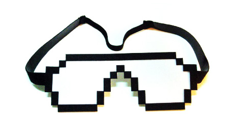 Pixel Sleeping Eye Mask