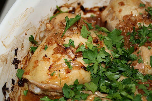 David Lebovitz's Super Easy Roast Chicken With Caramelized Shallots ...