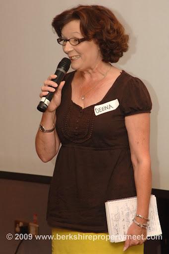 Deena Honey shares her story at Berkshire Property Meet