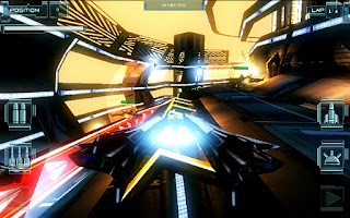 Screenshot of T-Racer HD