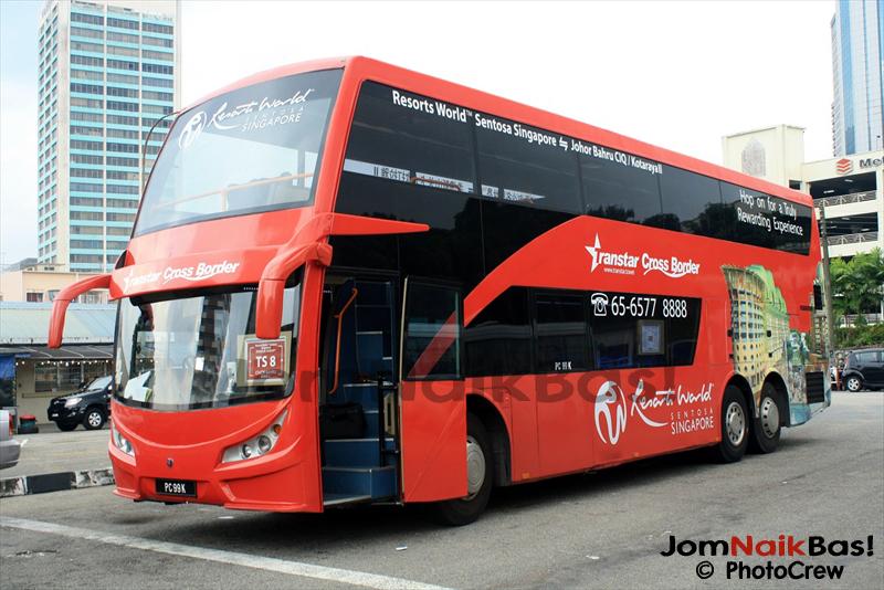 Cross Border – New Singapore-Johor Bahru Bus Service   Jom Naik Bas