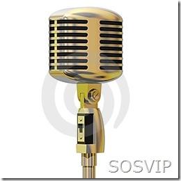 VIP microfone