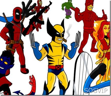 Herois da Marvel