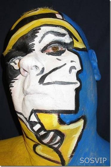 Bodypainting Pintura Facial (3)