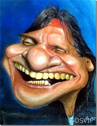 Caricatura Roberto Carlos