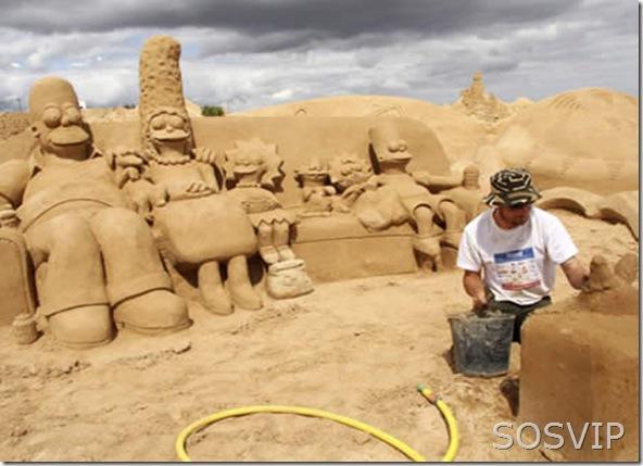 Esculturas de Areia (6)