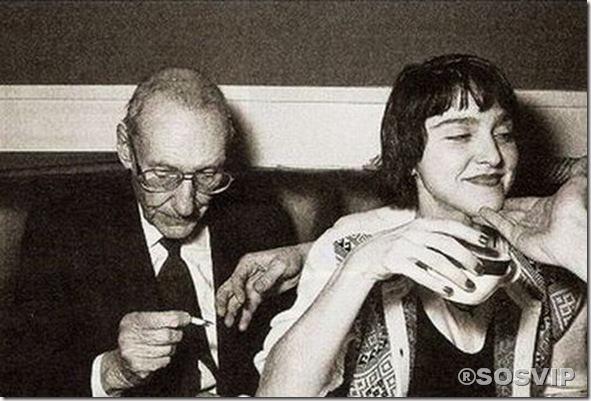 William Burroughs and Madonna