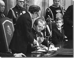 sanción de la constitución de 1978
