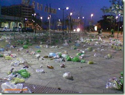 botellon_dia-despues_plaza-mayor