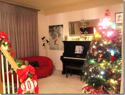 Christmas full living room