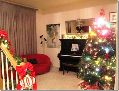 Christmas full living room