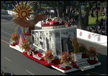 Reagan float 2010
