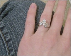 Hillary's Engagement Ring