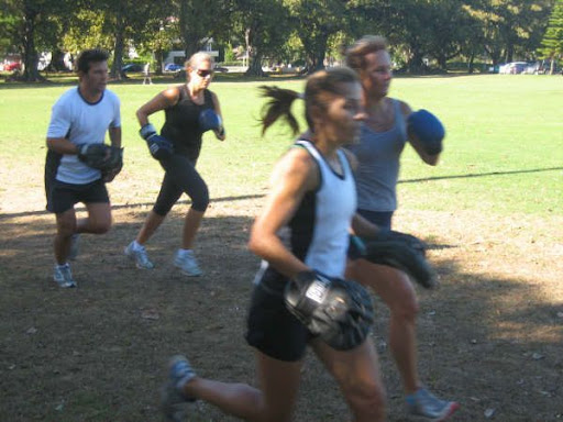 Boxing fitness session - rushcutters bay