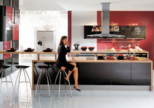 Dynamic Kitchen Kinds by Charles Guy Design Ltd