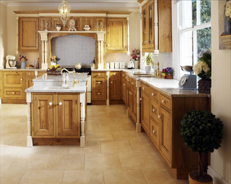 European Bespoke Kitchen Design in House Designs
