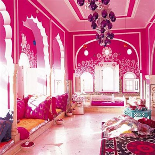 Middle east bedroom design for Arabic interiors decoration